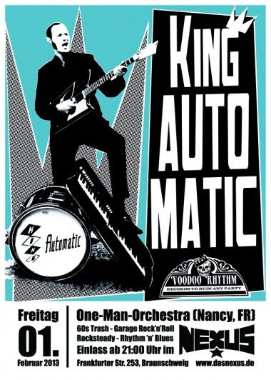 King Automatic Web-Flyer